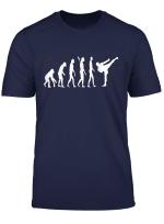 Kickboxen Evolution Kickboxer Entwicklung Kamfkunst T Shirt