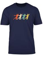 Handball Player Gift Handball Vintage Retro T Shirt