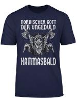 Nordische Mythologie Geduld Gott Der Ungeduld Vintage Design T Shirt