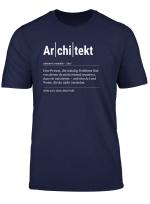 Architekt T Shirt Lustiges Geschenk Kollege