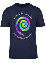 Its Worm Time Babey Fuzzy Worms String Meme Rainbow Tie Dye T Shirt