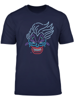 Disney Ursula Neon Face T Shirt