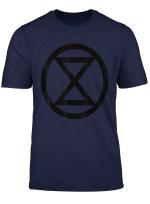 Extinction Rebellion T Shirt Rebel For Life Climate Change