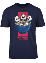 Japanese Ramen Kawaii Panda Cute Anime Noodle Lover Gift T Shirt