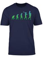 Herren Werdender Vater Geschenk Lustiges Evolution Papa Retro T Shirt