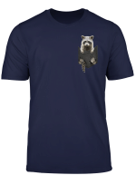 Funny Raccoon In Your Pocket T Shirt