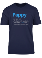 Mens Pappy Gifts Grandpa Fathers Day Definition Birthday T Shirt T Shirt
