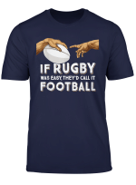 Rugby Michelangelos Hands If Rugby Was Easy It D Be Football T Shirt