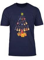 Guitar Christmas Tree Funny Christmas Gift T Shirt