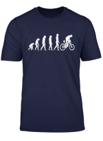 Funny Cycling Bike Evolution Gift T Shirt