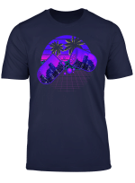 Vaporwave Aesthetic Retro Beach City Vaporwave Geometry T Shirt