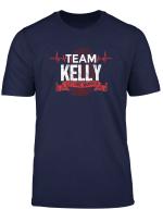 Kelly Team Family Reunions Dna Herzschlag T Shirt T Shirt