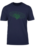 Geeky Science Astronomy Black Hole Singularity Pi Numbers T Shirt