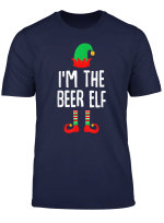 I M The Beer Elf Matching Family Group Christmas T Shirt