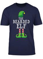 Bearded Elf Matching Family Group Christmas Gift Pajama T Shirt