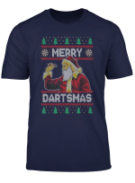 Merry Dartsmas Christmas Gift For Darts Player T Shirt