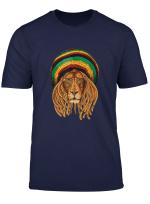 Great Marley Lion Art Dreadlock T Shirt