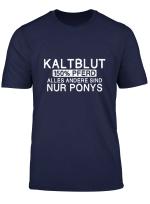 Kaltblut 150 Pferd Lustig Pony Stall Geschenk T Shirt
