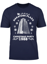 Nakatomi Plaza Christmas Party 1988 Men Boy Pop Culture T Shirt