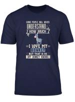 I Love My Donkey T Shirt Funny Donkeys Lovers Gift Men Women