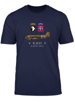 Us Paratroopers D Day T Shirt