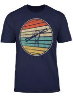 Cool Drummer Gift Retro Vintage 70S 80S Drums Stick Fun T Shirt