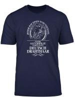 Deutsch Drahthaar Schutzengel Hunde T Shirt Hund Shirt Jagd