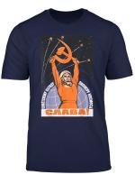 Sowjetische Tshirt Sputnik Gagarin Platz Udssr Cccp Vintage Poster
