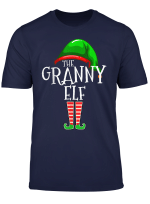 The Granny Elf Family Matching Group Christmas Gift Grandma T Shirt