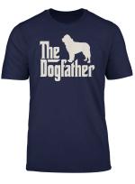 The Dogfather Newfoundland Funny Dog Owner Tshirt