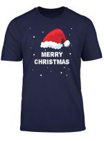 Merry Christmas Mit Weihnachtsmutze Fur Weihnachten T Shirt
