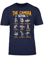 The Camera Sutra Funny Photographer Gift T Shirt