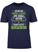 Geocaching T Shirt Ich Bin Eine Geocacherin