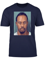 Tiger Funny T Shirt Mugshot Tshirt
