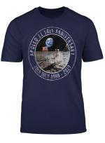 Apollo 11 50Th Anniversary Moon Landing 1969 2019 Distressed T Shirt