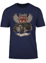 Hot Rod Retro Vintage Oldtimer Auto Rockabilly Route 66 T Shirt