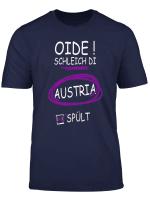 Herren Oide Schleich Di Austria Spult I Funny Manner Shirt