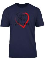 Future Mrs Sheeran Tee Shirt Gift For Fans Of Ed