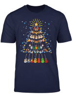 Christmas Guitar Tree Shirt Funny Merry Xmas Gifts T Shirt