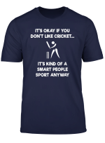 Cricket Game T Shirt Funny Smart Player