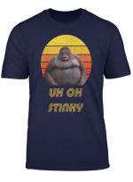 Uh Oh Stinky Poop Vintage Retro Dank Memes Le Monke T Shirt