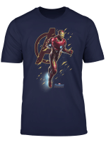 Marvel Avengers Endgame Iron Man Action Pose Graphic T Shirt