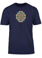 Namaste Mandala Flower Yoga T Shirt T Shirt