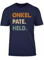 Herren Onkel Pate Held Geschenk Fur Taufpate T Shirt