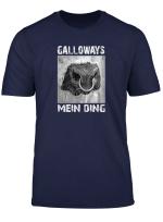 Galloways Mein Ding Gallowaybulle Mit Nasenring Stier T Shirt