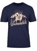 Manner Und Herren T Shirt Waidmannsheil Jager Jagd Gift