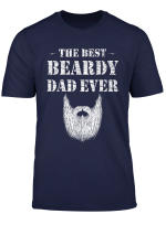 Mens The Best Beardy Dad Ever T Shirt Funny Gift For A Daddy