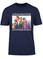 Vintage Gift Happiness Lover Begin Tour Fan T Shirt