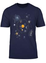 Solar System T Shirt Perfekte Tshirt Fur Space Enthusiasten