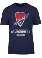Vintage San Antonio Football Commanders T Shirt For Fans